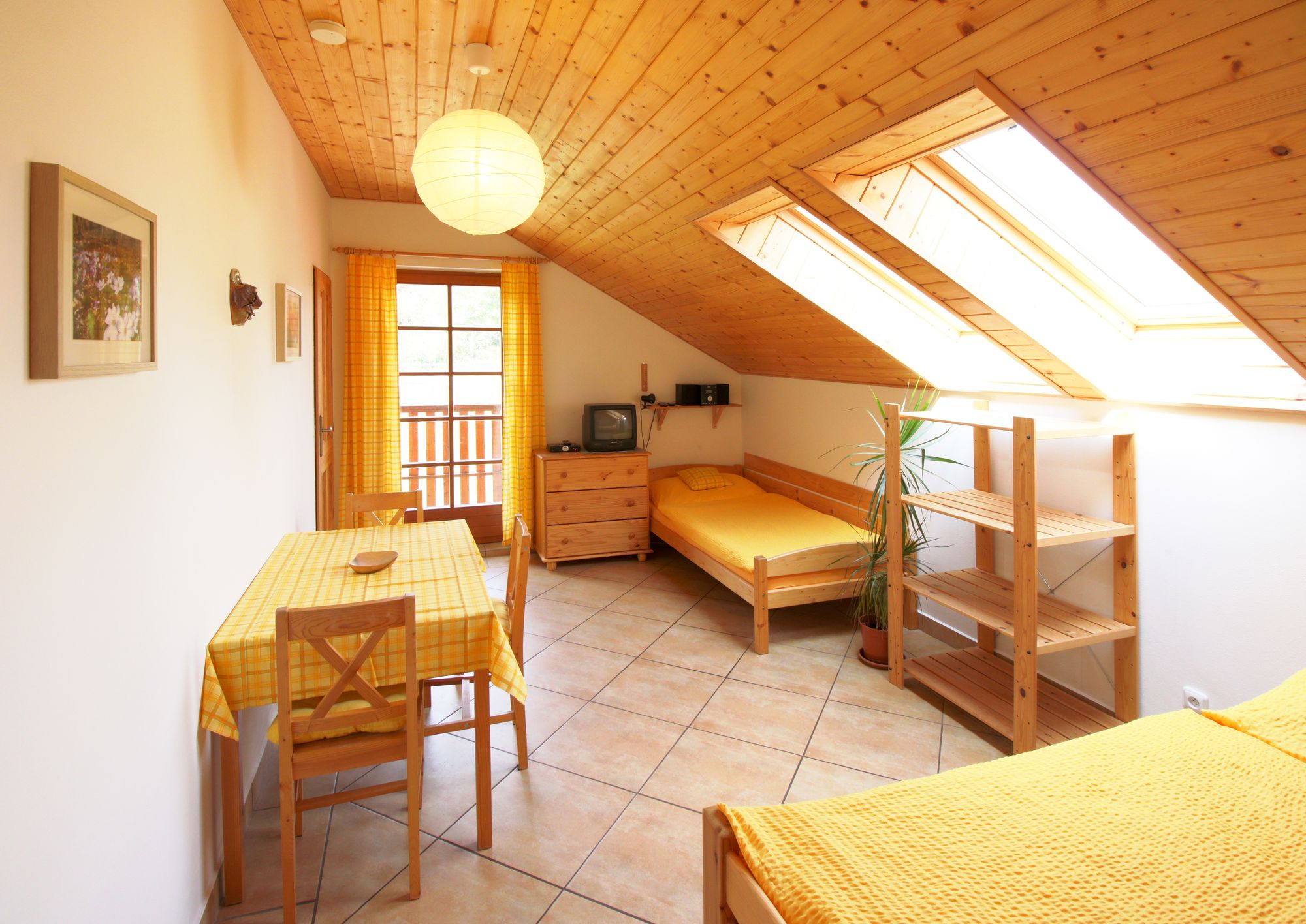 Ložnice apartmánuč. 3 - podkroví