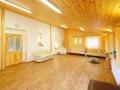 Společenská místnost na cvičení nebo školení